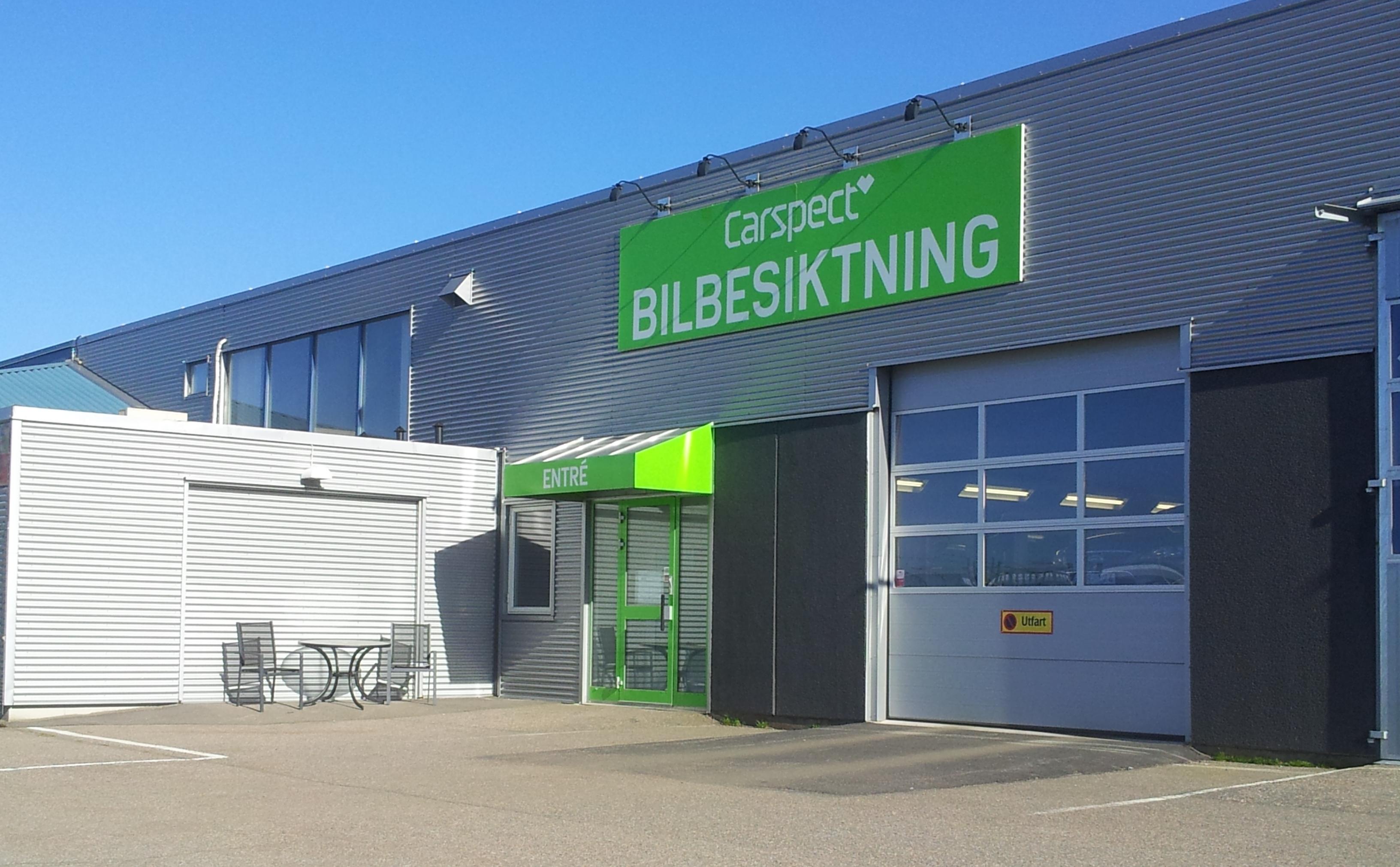 Carspects besiktningsstation i Lassabacka, Vvarberg