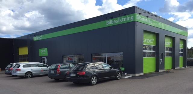 Carspects besiktningsstation i Svaneberg, Kalmar