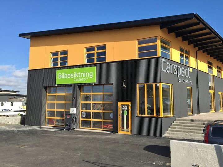 Carspects besiktningsstation i Löddeköpinge Center Syd