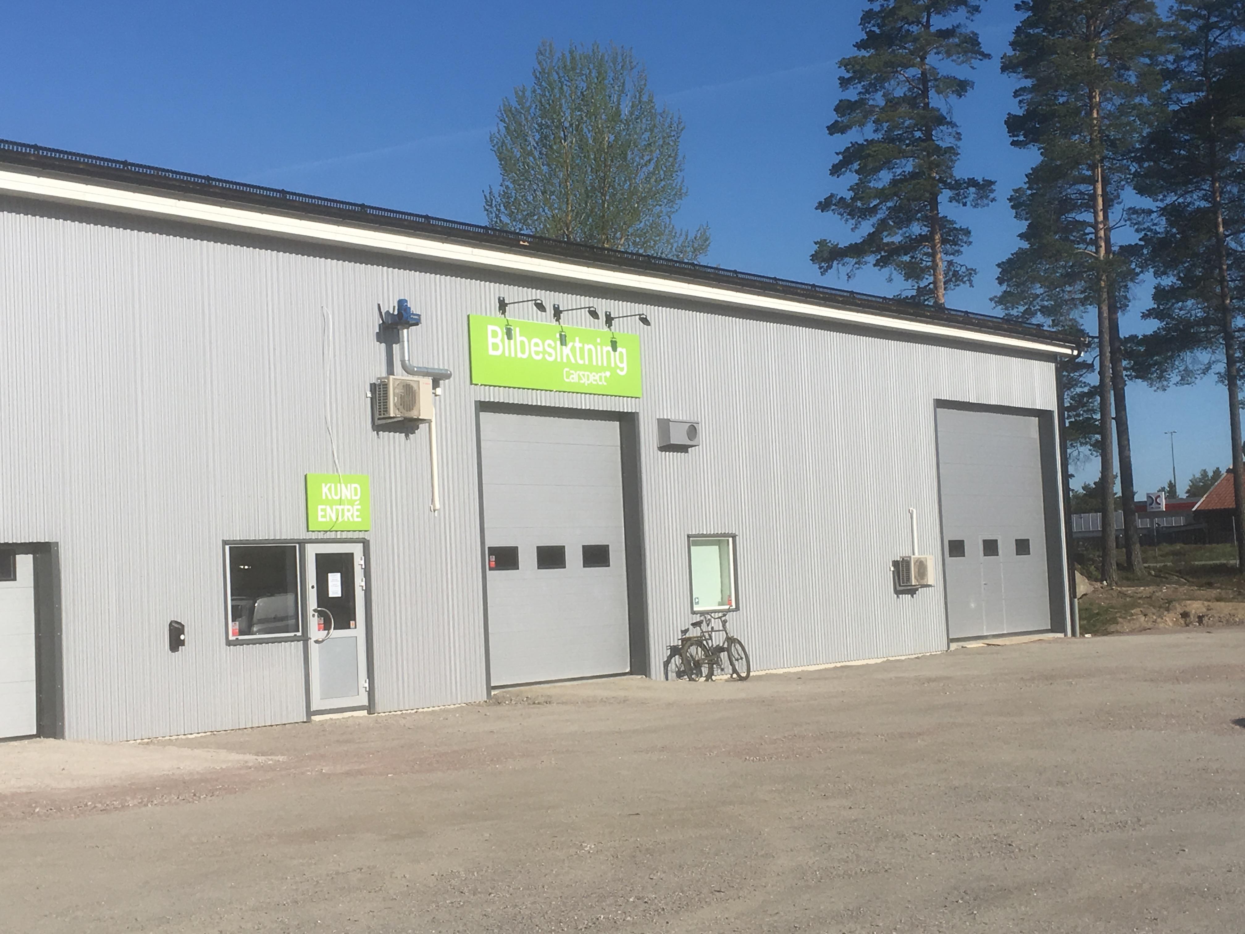 Carspects besiktningsstation i Surahammar Energivägen
