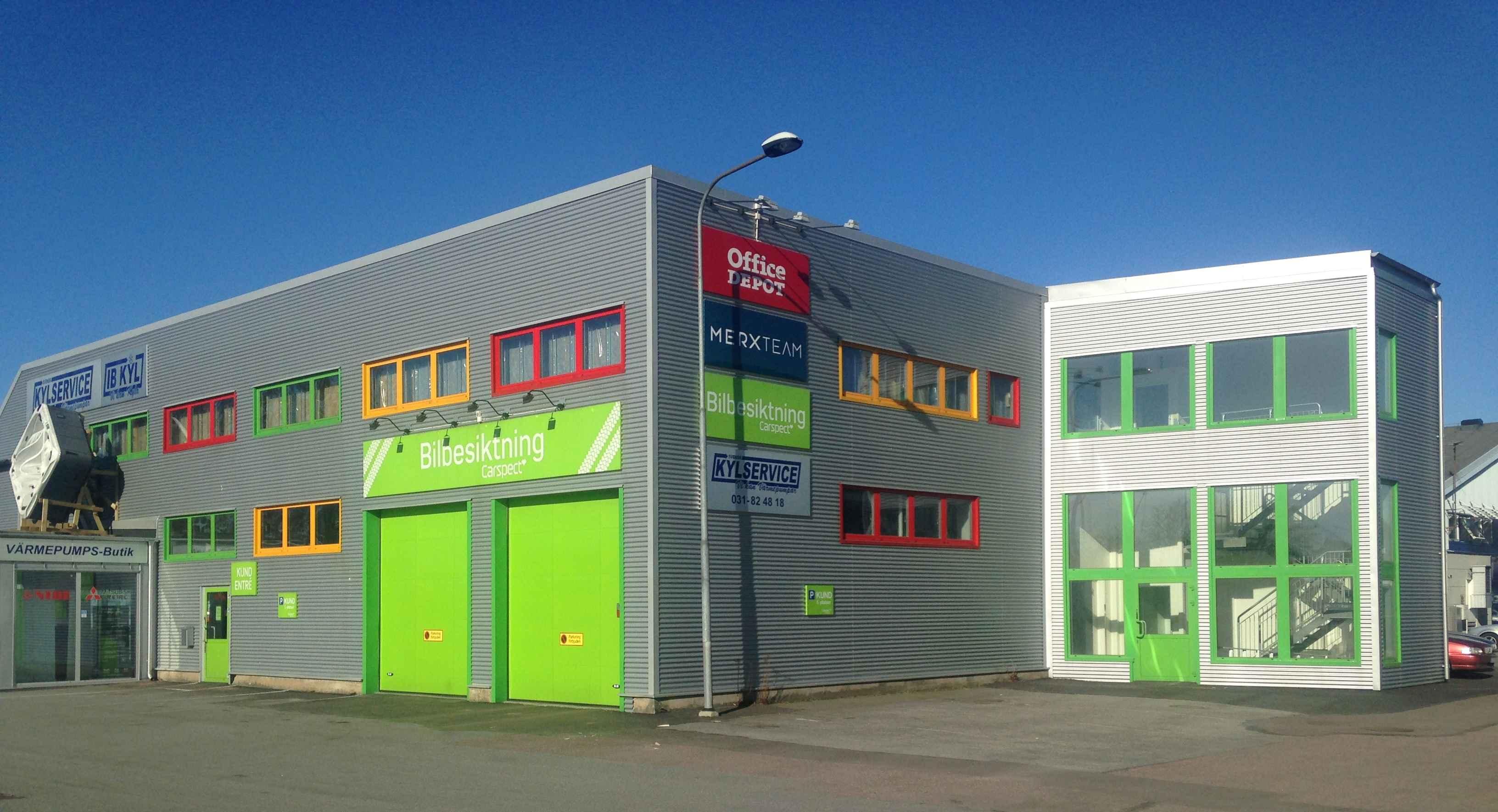 Carspects besiktningsstation i Göteborg