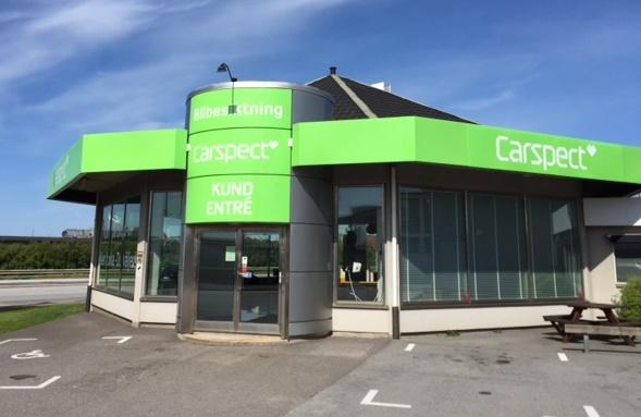 Carspects besiktningsstation på Västkustvägen i Malmö