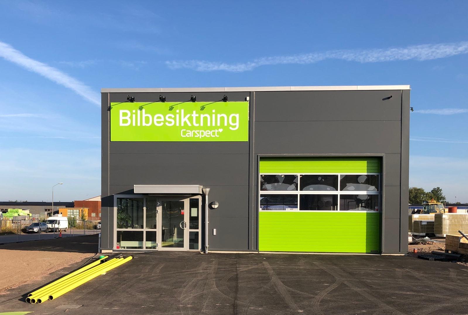Carspects besiktningsstation på Engelska Vägen i Kalmar