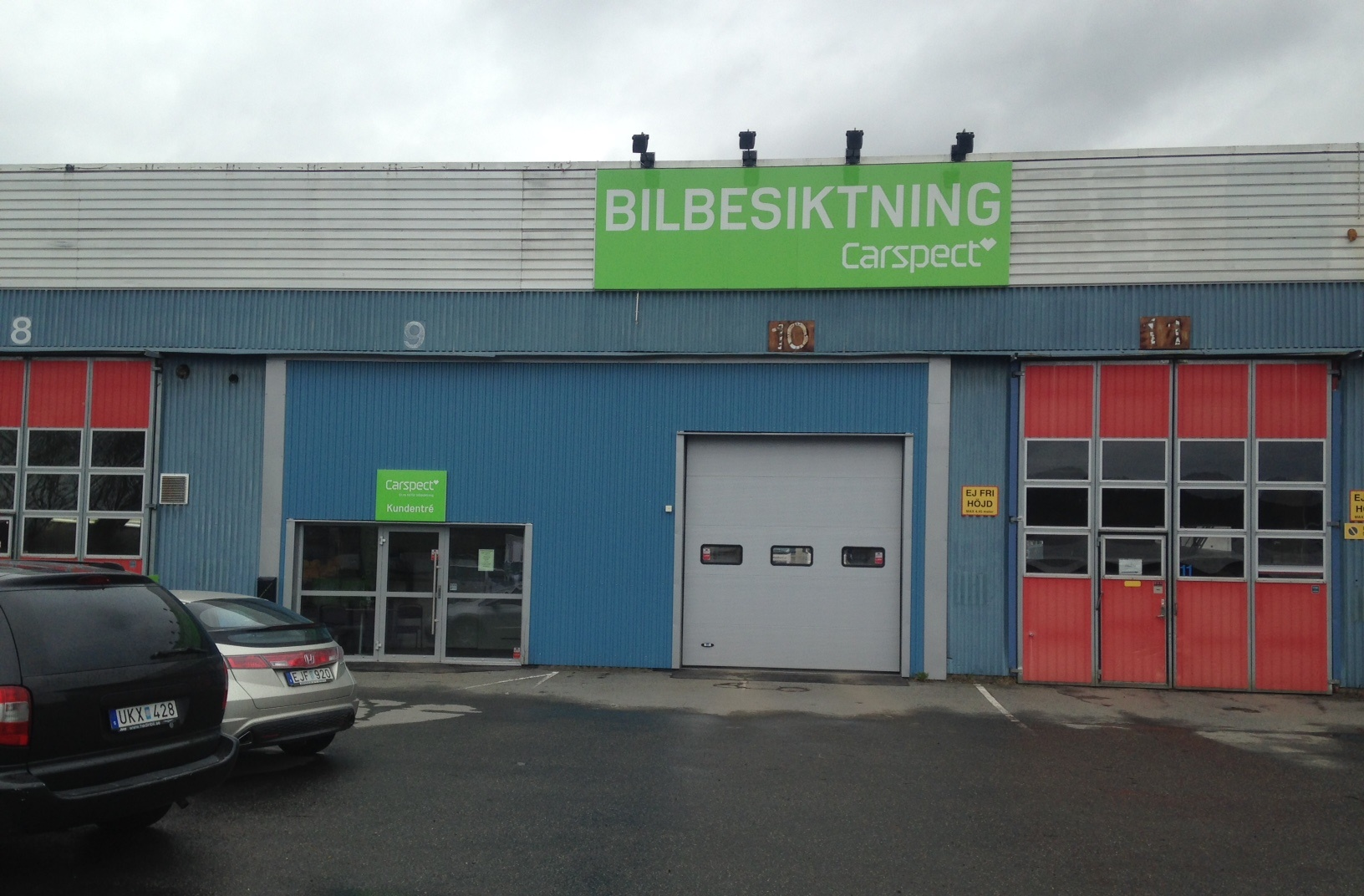 Carsepcts besiktningsstation i Göteborg, Hisnings Backa