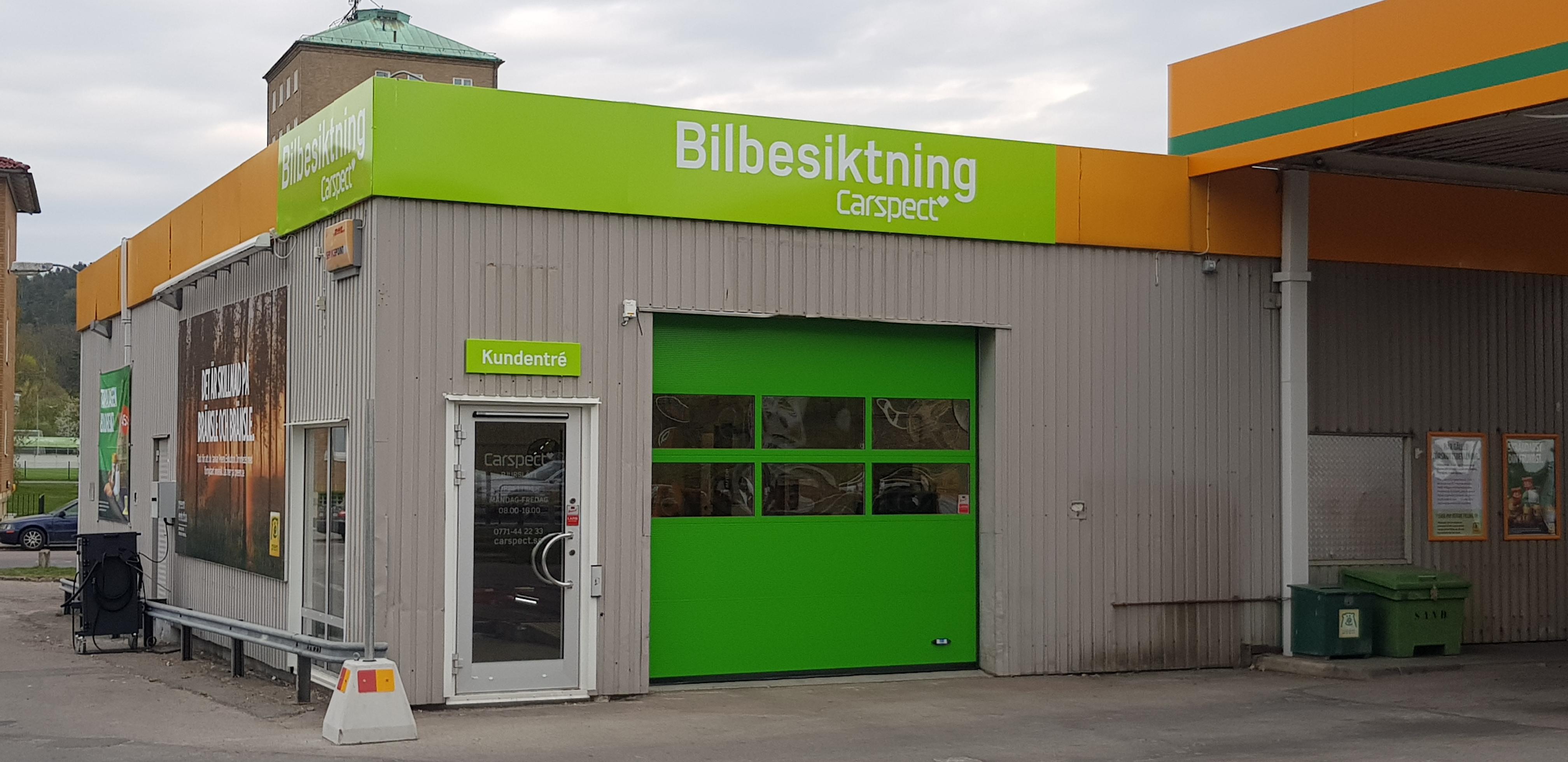 Carspects besiktningsstation i Bjurslätt, Göteborg