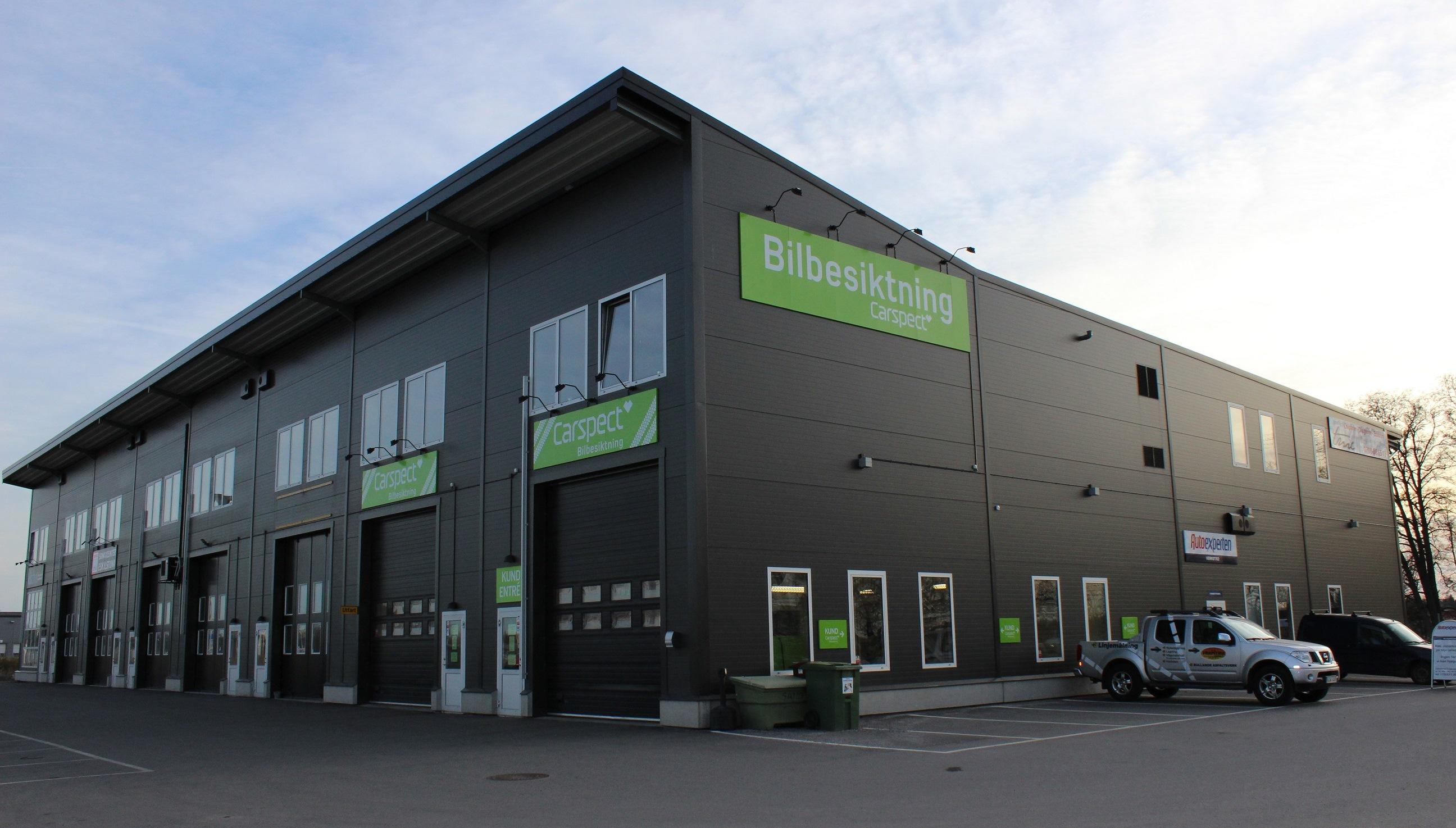 Carspects besiktningsstation i Västerleden, Eskilstuna
