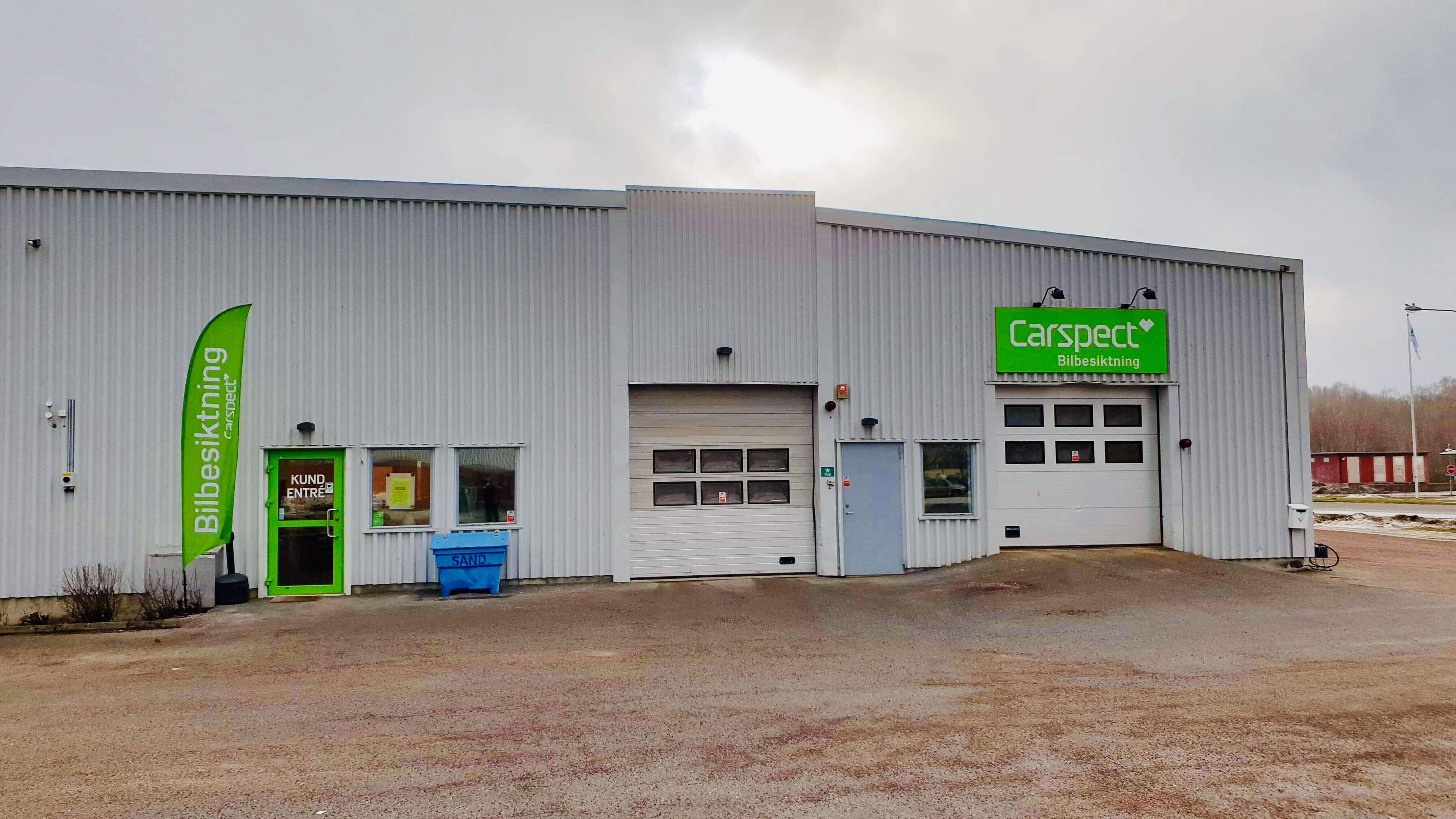Carspects besiktningsstation i Spelhagen, Nyköping