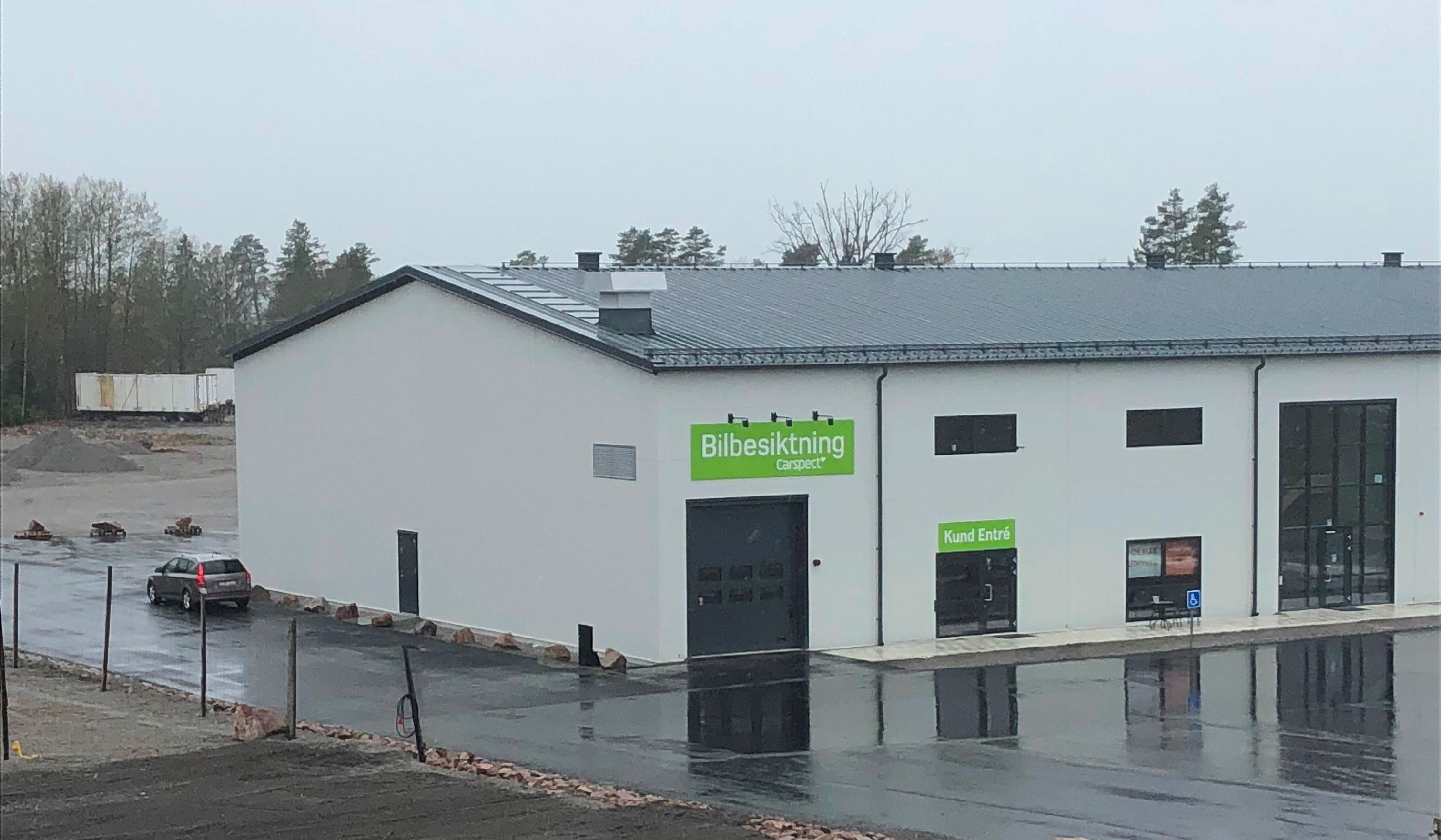 Carspects besiktningsstation i Uppsala Fullerö