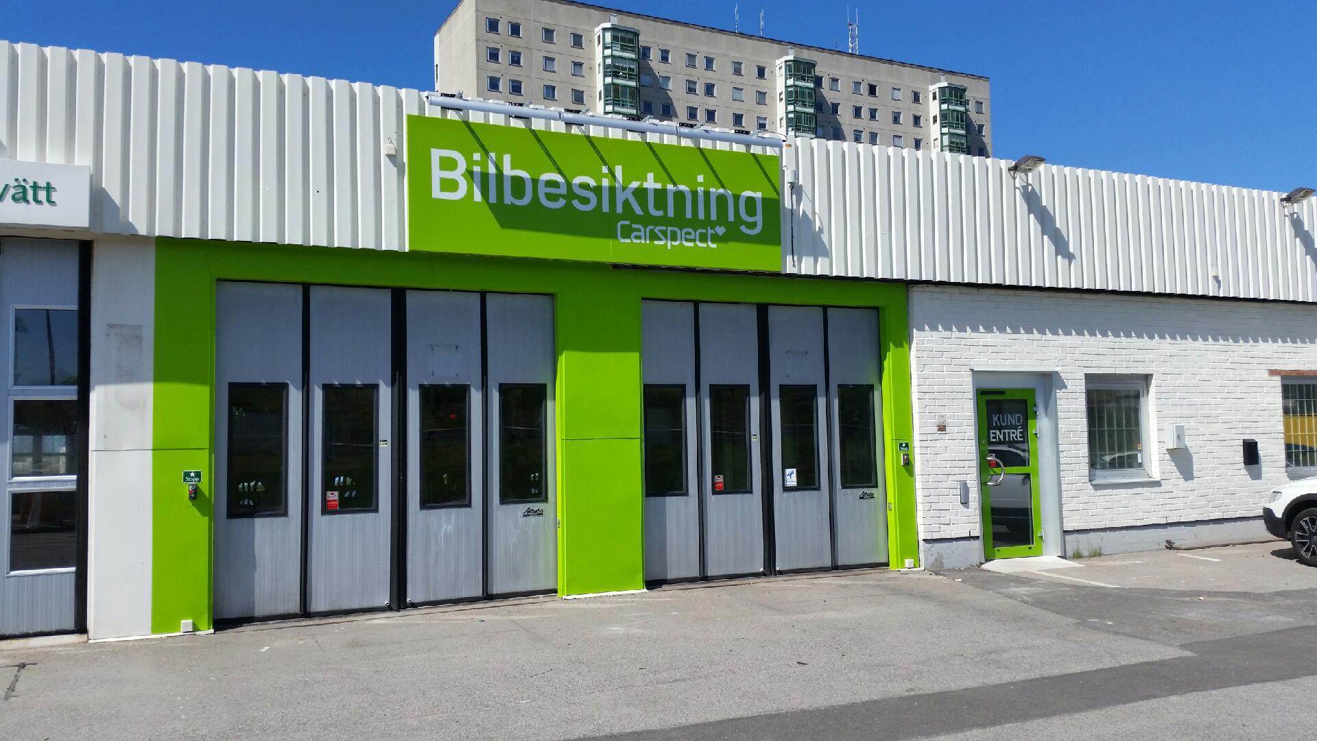 Carspects besiktningsstation i Rosengård, Malmö