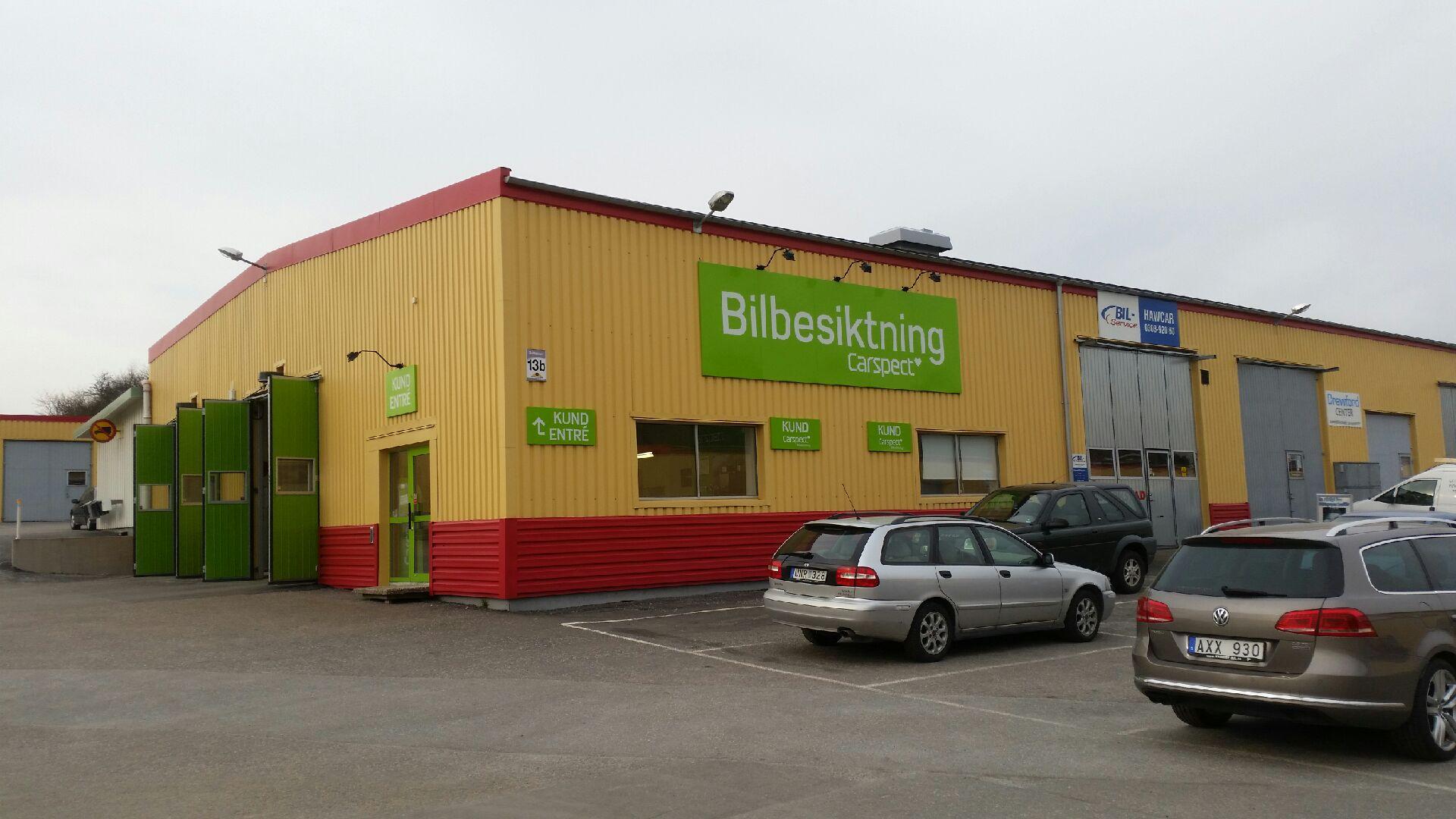Carspects besiktningsstation i Kungälv