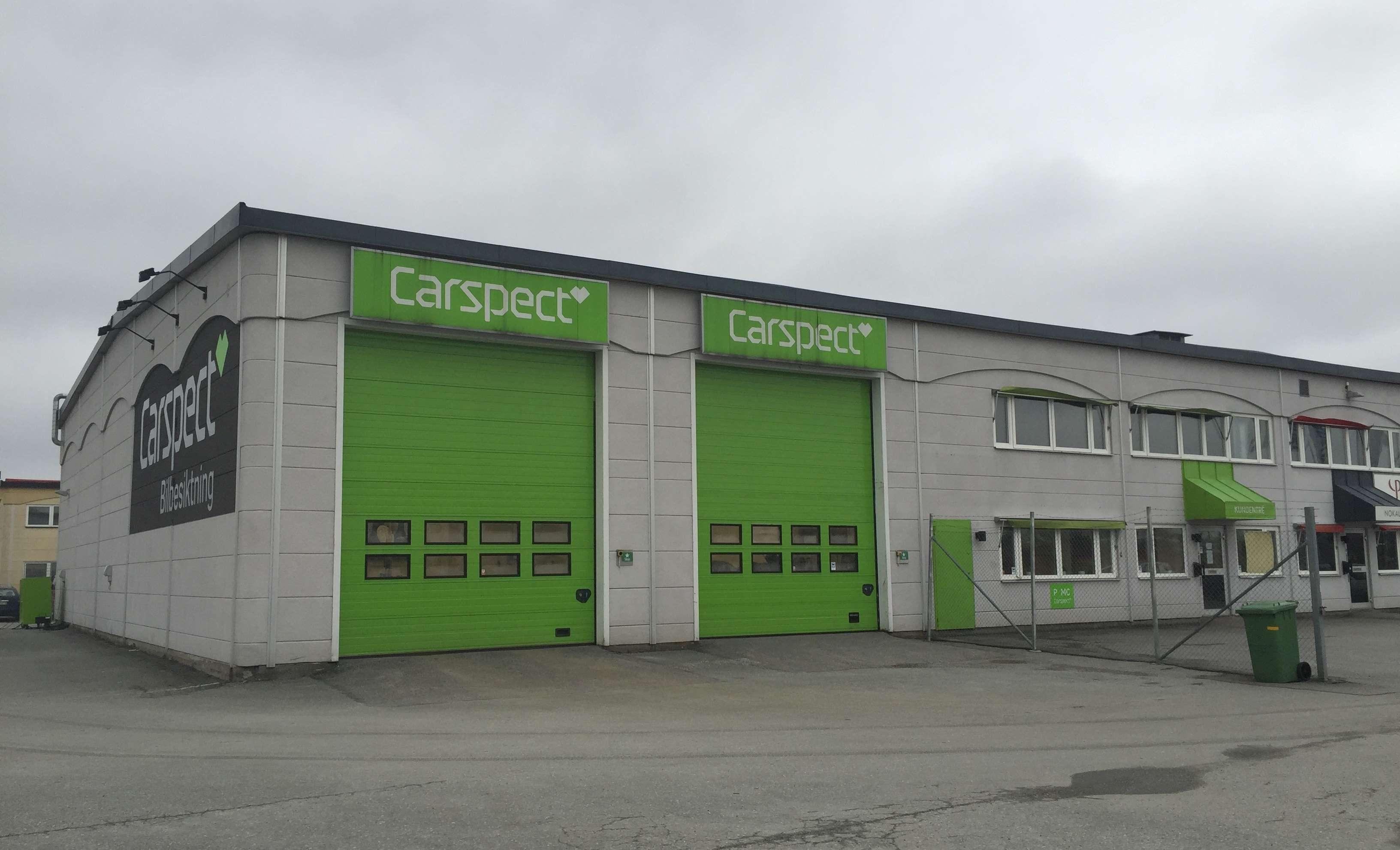 Carspects besiktningsstation i Örebro Eurostop