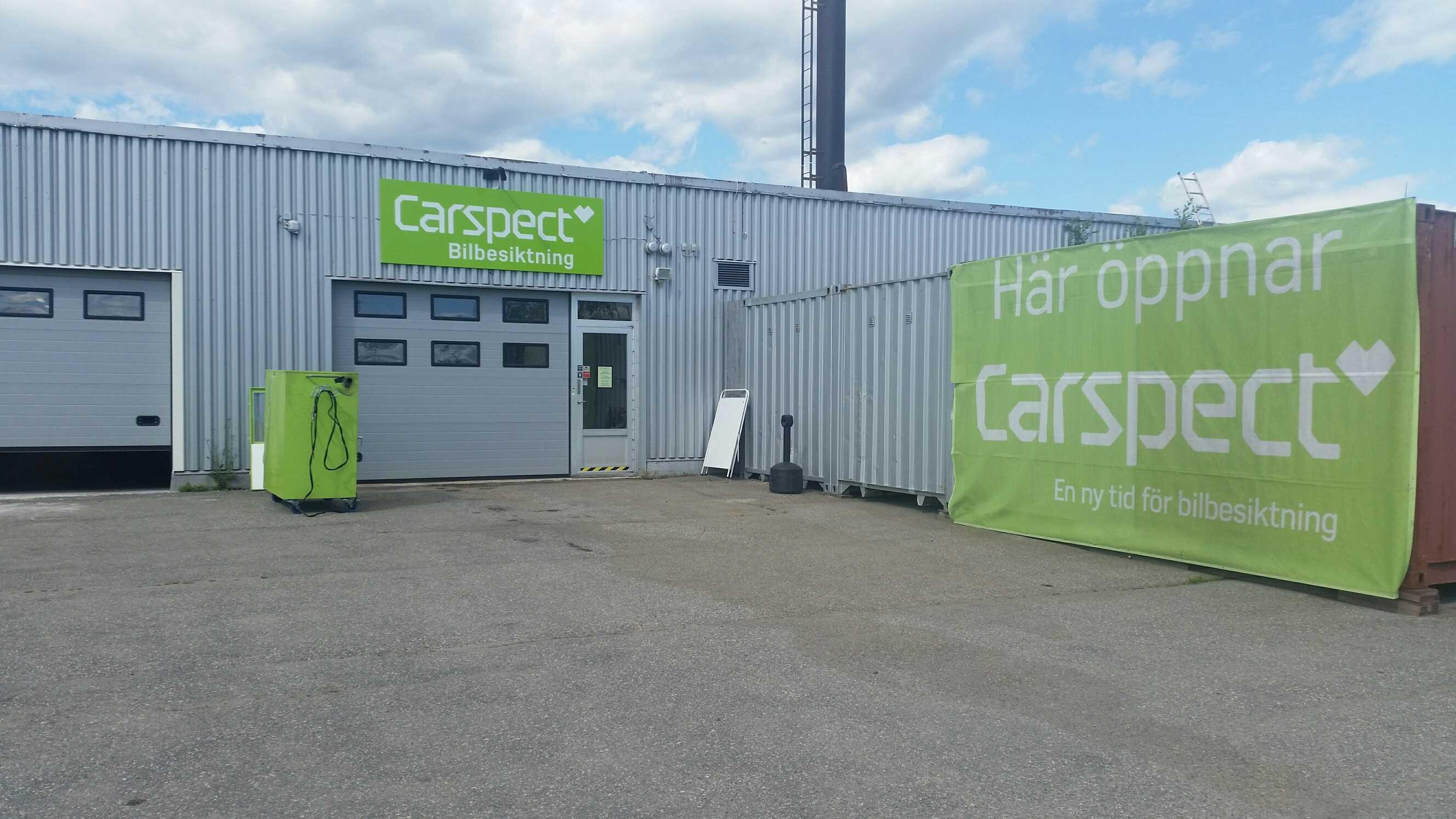 Carspects besiktningsstation i Hallstahammar