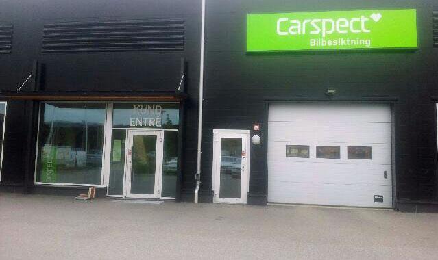 Carspects besiktningsstation i Linköping